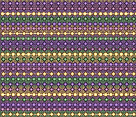 brick_mardi_gras_beads_mesh_yard fabric by pd_frasure on Spoonflower - custom fabric