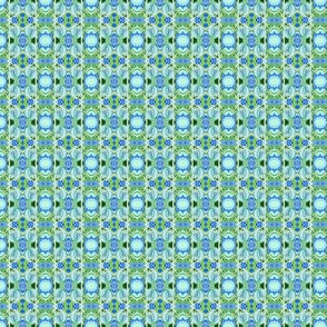 Teeny Tiny Geometric Vertical Stripe