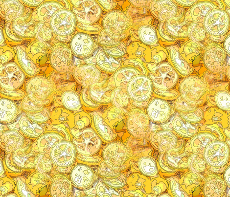 Citric acid fabric by nalo_hopkinson on Spoonflower - custom fabric
