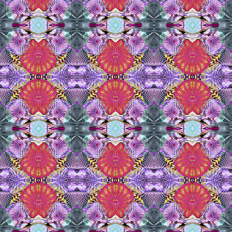 Glass in Salmon and Purple fabric by glennis on Spoonflower - custom fabric