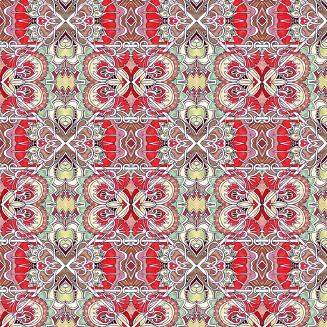 Those Romantic Victorians fabric by edsel2084 on Spoonflower - custom fabric