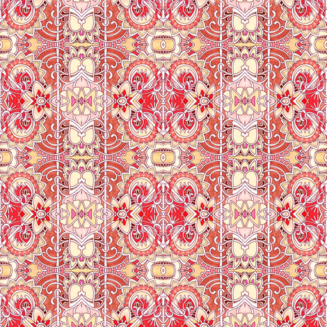 Vertical Victorian Stripes fabric by edsel2084 on Spoonflower - custom fabric