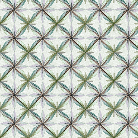 ©2011 Delft Rose Pencil 2 fabric by glimmericks on Spoonflower - custom fabric