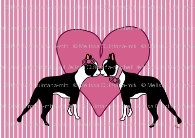 Boston Terrier Love Forever!