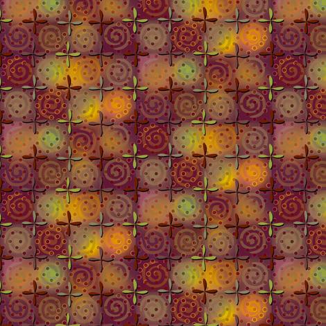 fiestival - copper fabric by glimmericks on Spoonflower - custom fabric