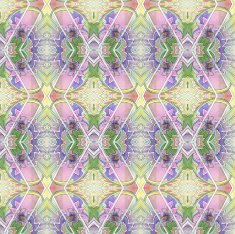 A Hankering For Granny Hankies  fabric by edsel2084 on Spoonflower - custom fabric