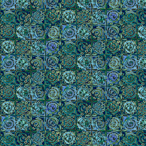 fiestival atlantis fabric by glimmericks on Spoonflower - custom fabric