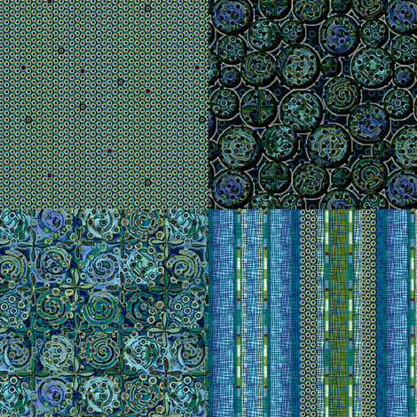 Atlantis_4in1 fabric by glimmericks on Spoonflower - custom fabric
