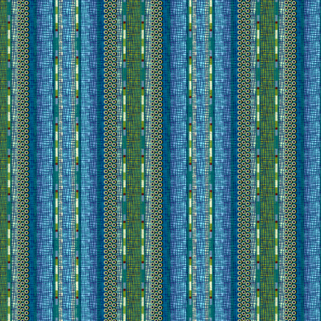 atlantis_stripe fabric by glimmericks on Spoonflower - custom fabric