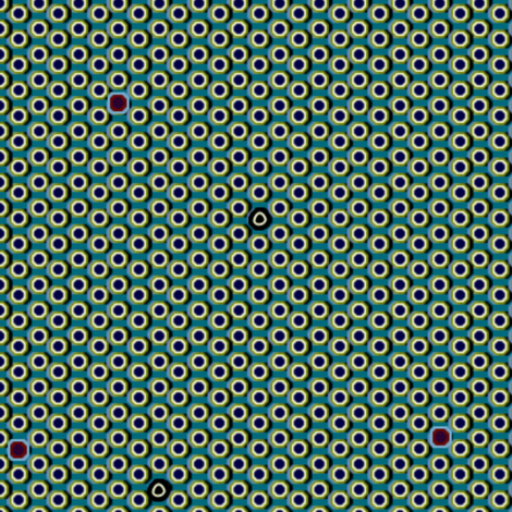 atlantis_dots 3X fabric by glimmericks on Spoonflower - custom fabric