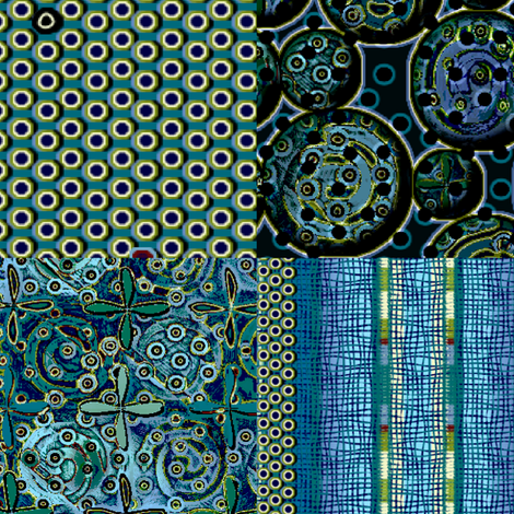 Atlantis_4in1 Supersized fabric by glimmericks on Spoonflower - custom fabric
