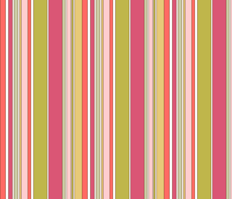 Multi_Stripe fabric by duckerdesigns on Spoonflower - custom fabric
