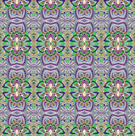 Thinking of India fabric by edsel2084 on Spoonflower - custom fabric