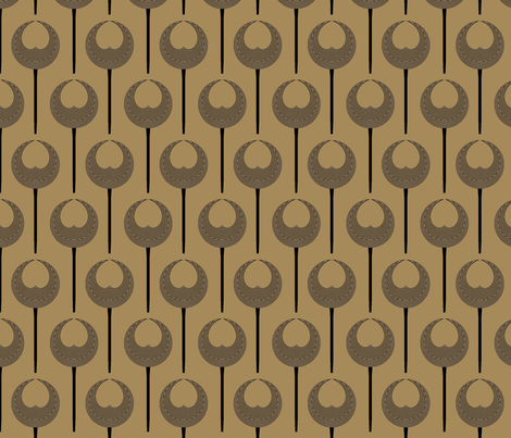 Hawk Scepter fabric by david_kent_collections on Spoonflower - custom fabric