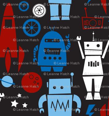 Rockets N' Robots (red)