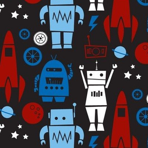 Rockets N' Robots (red)