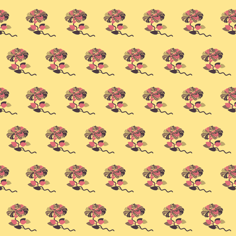carol's rose fabric by tinhearts on Spoonflower - custom fabric