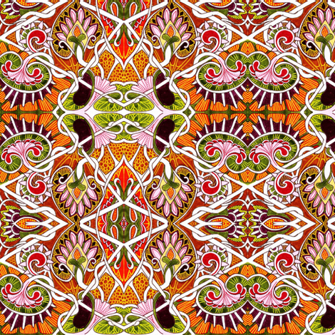 Gypsy Soul fabric by edsel2084 on Spoonflower - custom fabric