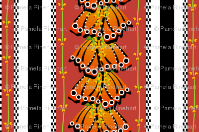 Floral Fantasy Stripe 2