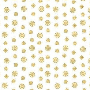 delft dots gold