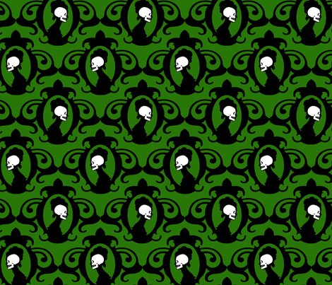 Rskull_flourish_blk_deepgreen_shop_preview