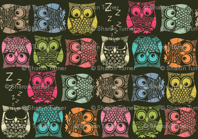 small scale sherbet owls