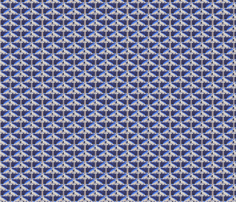 Next Stop: Triangles fabric by relative_of_otis on Spoonflower - custom fabric