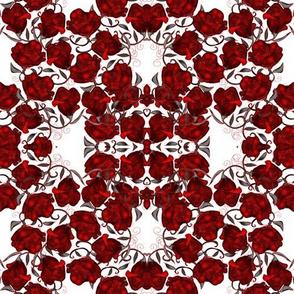 Mini Red Valentine Roses
