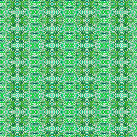 The Diamond Vine on Saint Patrick's Day fabric by edsel2084 on Spoonflower - custom fabric