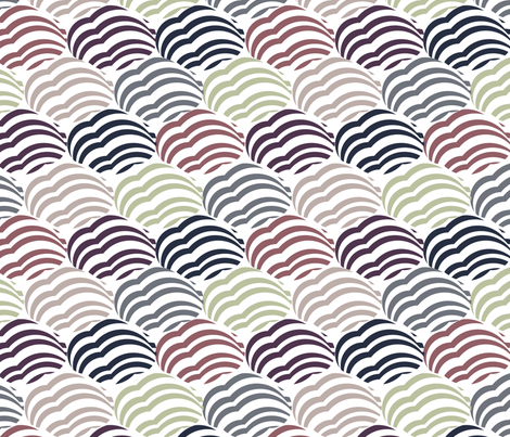 Cloud fabric by demigoutte on Spoonflower - custom fabric