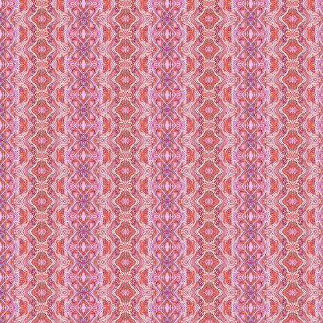 Pink Lace Scallop Vertical Stripe fabric by edsel2084 on Spoonflower - custom fabric