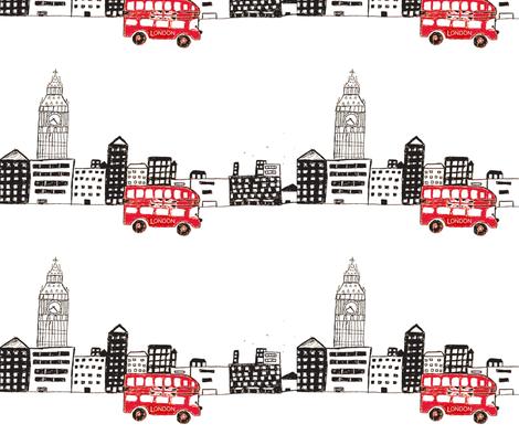 london  fabric by lolo23 on Spoonflower - custom fabric