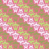 Rrturtles_stripe_turtles_only_multicolor_green_pink_v2-01_shop_thumb