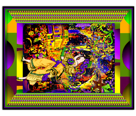 Mardi Gras/Carnival fabric by whimzwhirled on Spoonflower - custom fabric