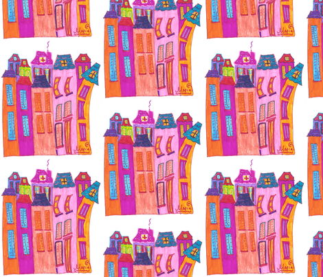 Maria's little Paris fabric by mariart on Spoonflower - custom fabric