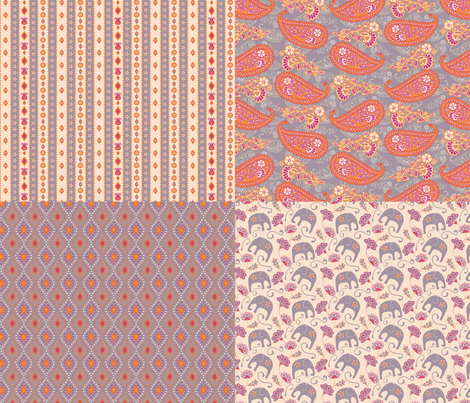 India Love Spice fabric by kezia on Spoonflower - custom fabric