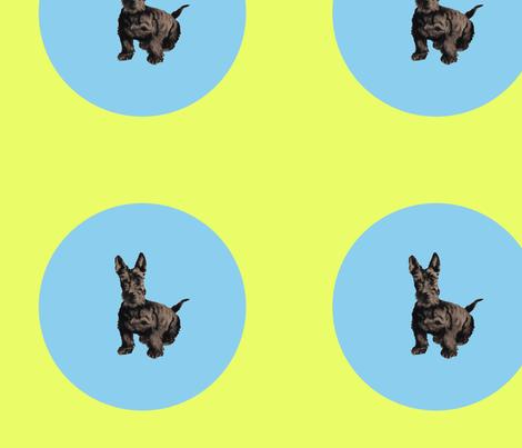 Dog_Polka_Dot fabric by dynamo on Spoonflower - custom fabric