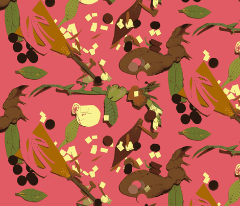 Floor of Gethsemane fabric by boris_thumbkin on Spoonflower - custom fabric
