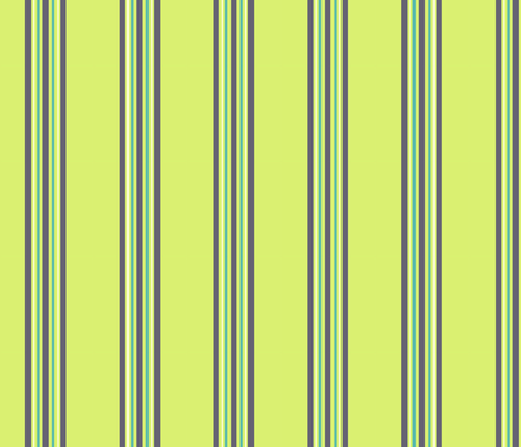 kiwi eggplant teal stripe fabric by demouse on Spoonflower - custom fabric