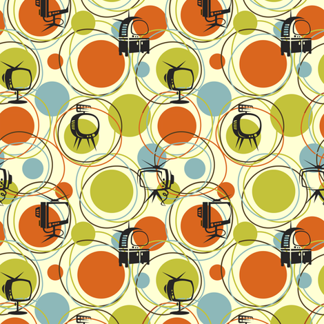 Say Goodnight, Gracie fabric by vicky_s on Spoonflower - custom fabric
