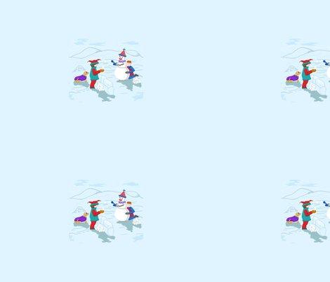 Clown_boys_snowman_and_dog_revised_colors_plus_6c_shop_preview