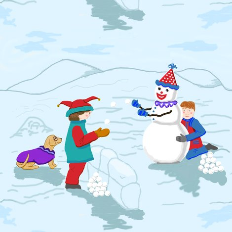 Rclown_boys__snowman_and_dog_revise_colors_plus_6_shop_preview