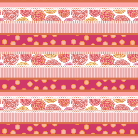 ribbons fabric by mrshervi on Spoonflower - custom fabric