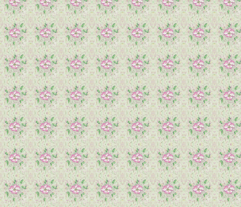 Cherry Flower Blossom fabric by mariannemathiasen on Spoonflower - custom fabric