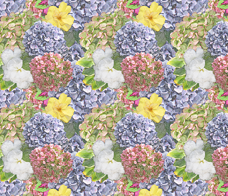 Launceston Flowers fabric by tallulahdahling on Spoonflower - custom fabric