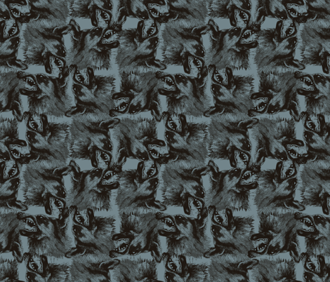 wolf1 fabric by sydama on Spoonflower - custom fabric
