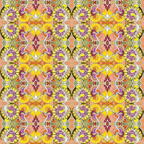 Got Sunshine in a Jar fabric by edsel2084 on Spoonflower - custom fabric
