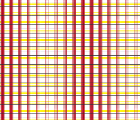cowgirl's western shirt plaid fabric by georgeandgracie on Spoonflower - custom fabric