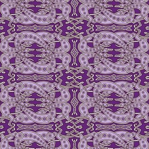 Purple Celtic Greyhounds ©2011 by Jane Walker