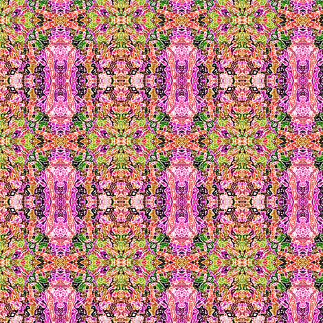 Abstract Morroccan    -Pink fabric by fireflower on Spoonflower - custom fabric